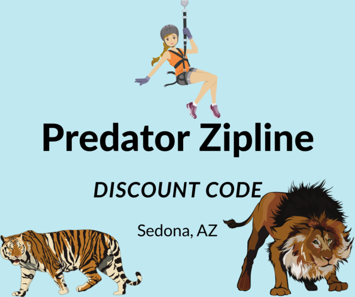 Predator Ziplining in Phoenix Arizona area promo code