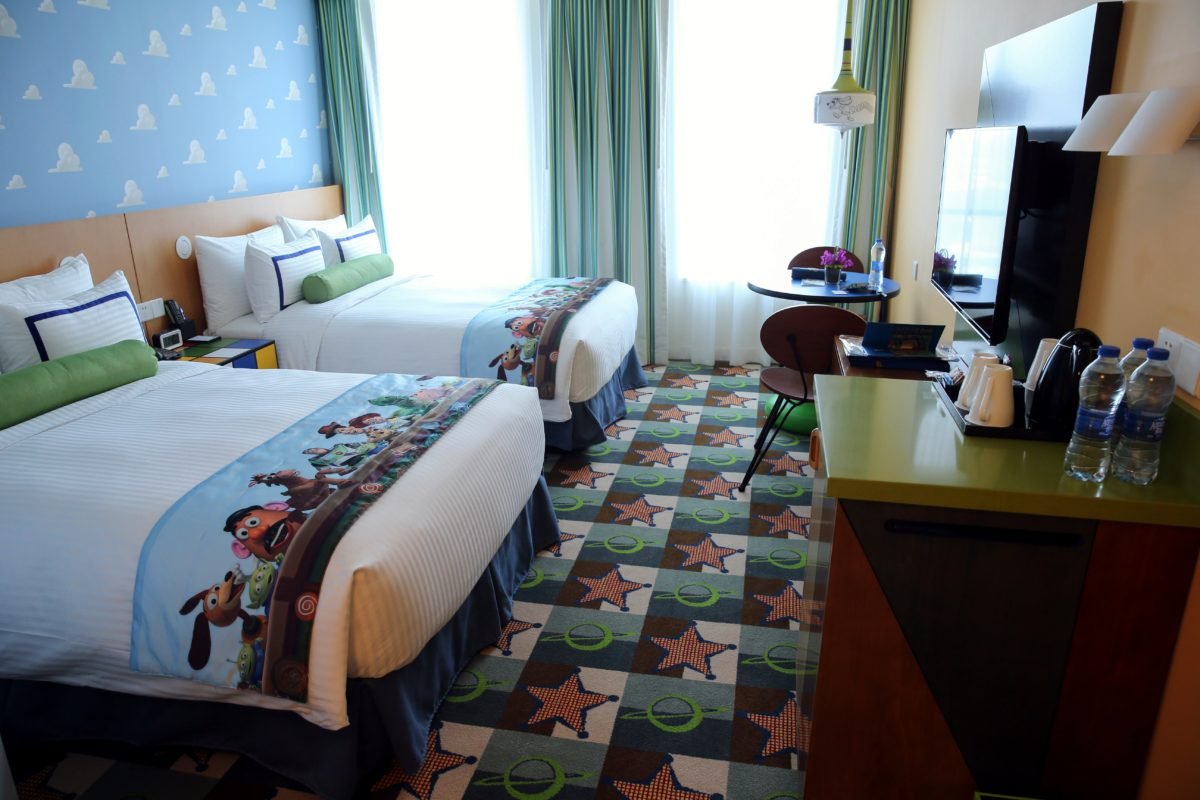 Toy Story Hotel has Disney Pixar themed rooms for families
