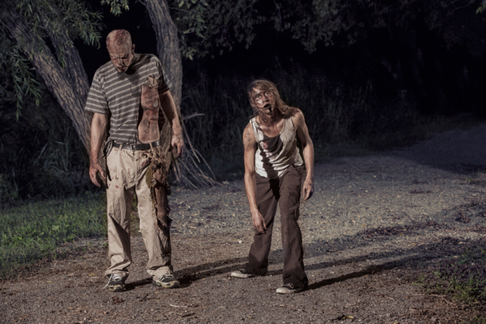 Discounted admission to a Halloween season Zombie Safari in Forney, TX