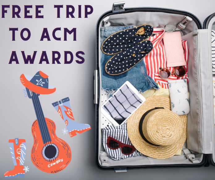 Win trip to Academy of Country Music Awards show includes airfare, hotel, tickets