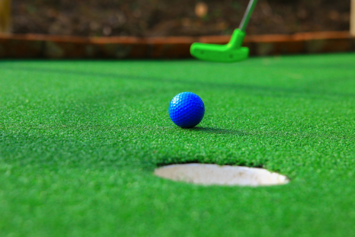 Discount attraction pass for mini golf, go-karting & laser tag at Adventure Landing in Dallas, TX