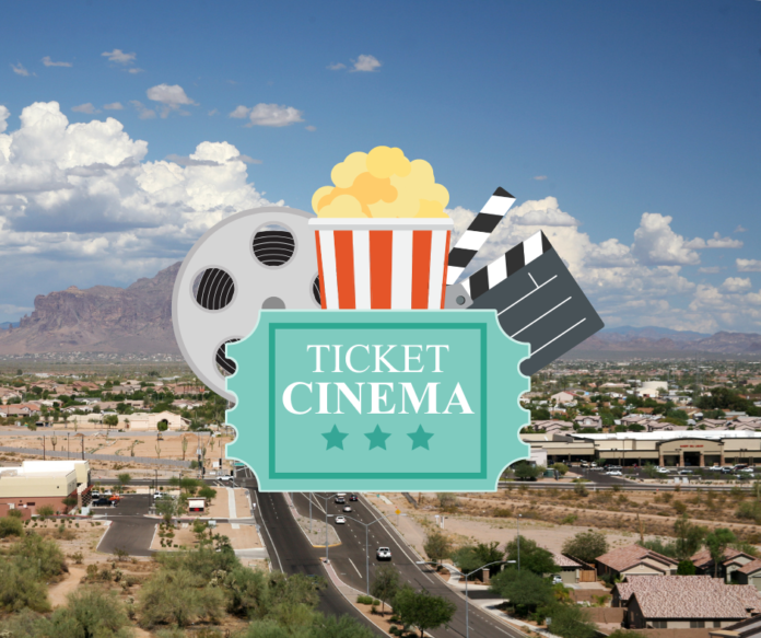 Discount ticket, snack & TV package for drive in movies in Mesa, Arizona