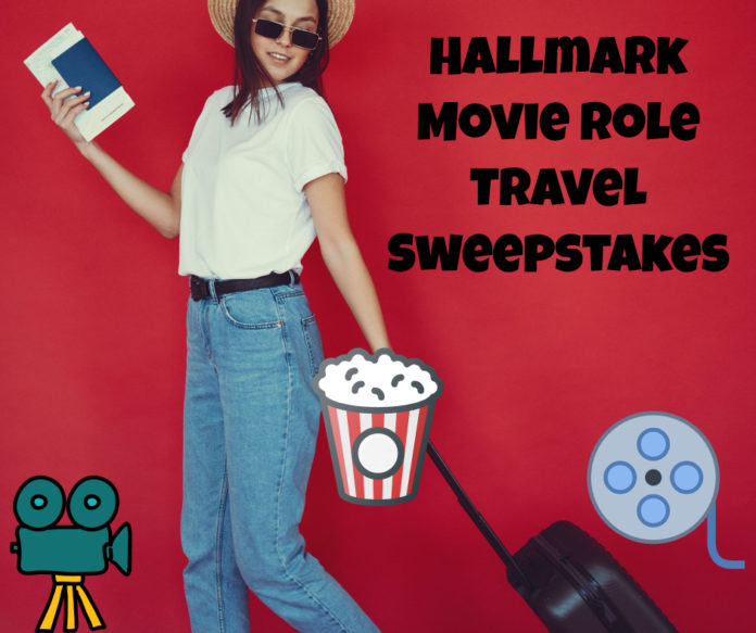 Win a role on a Hallmark movie & trip to the taping location