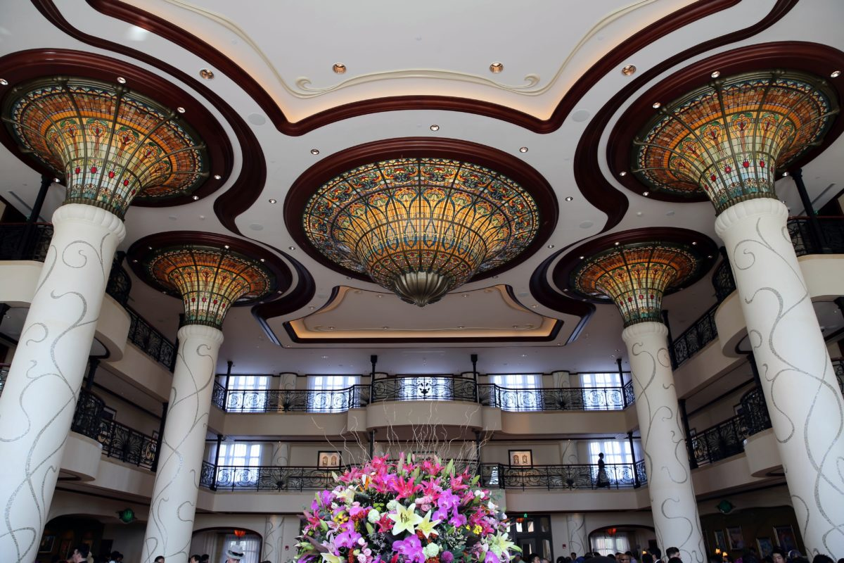 The Shanghai Disneyland Hotel is more luxurious than the Toy Story Hotel