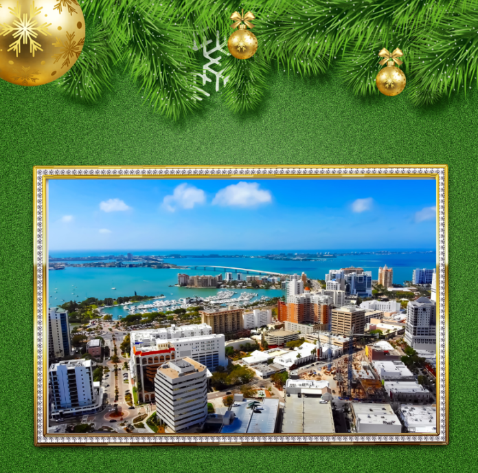 Discount ticket for the Holly Jolly Trolley Tour in Sarasota, Florida