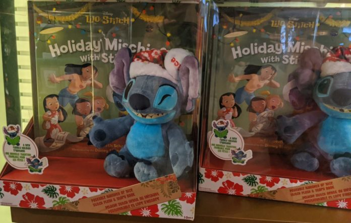 Best Disney holiday books themed to Stitch, Star Wars, Little Mermaid, Tangled, Monsters Inc, etc.
