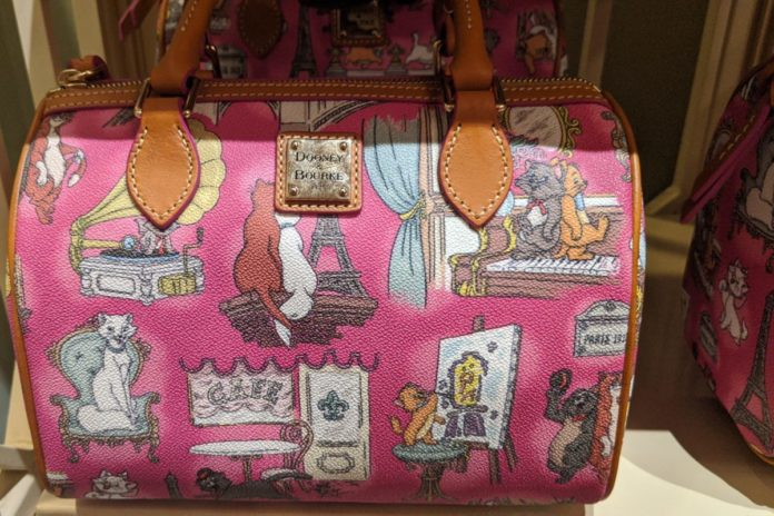 Best Disney cat purses themed to the Aristocats, The Lion King, The Jungle Book, etc.