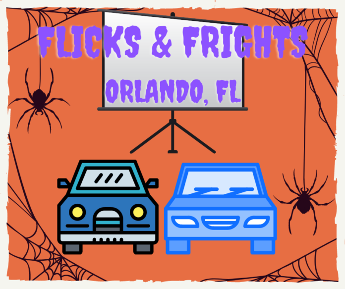 Enjoy family-friendly Halloween movies at drive in safe experience at SeaWorld Orlando parking lot