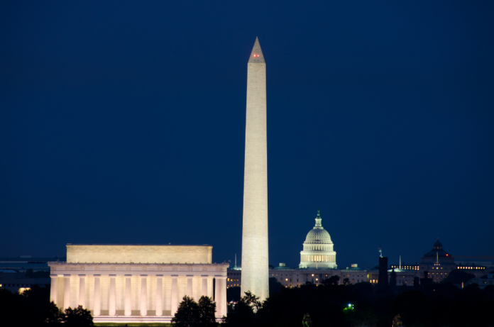 See Capitol, White House, National Mall, Memorials & more at night on Washington DC all-electric Red Roadster tour