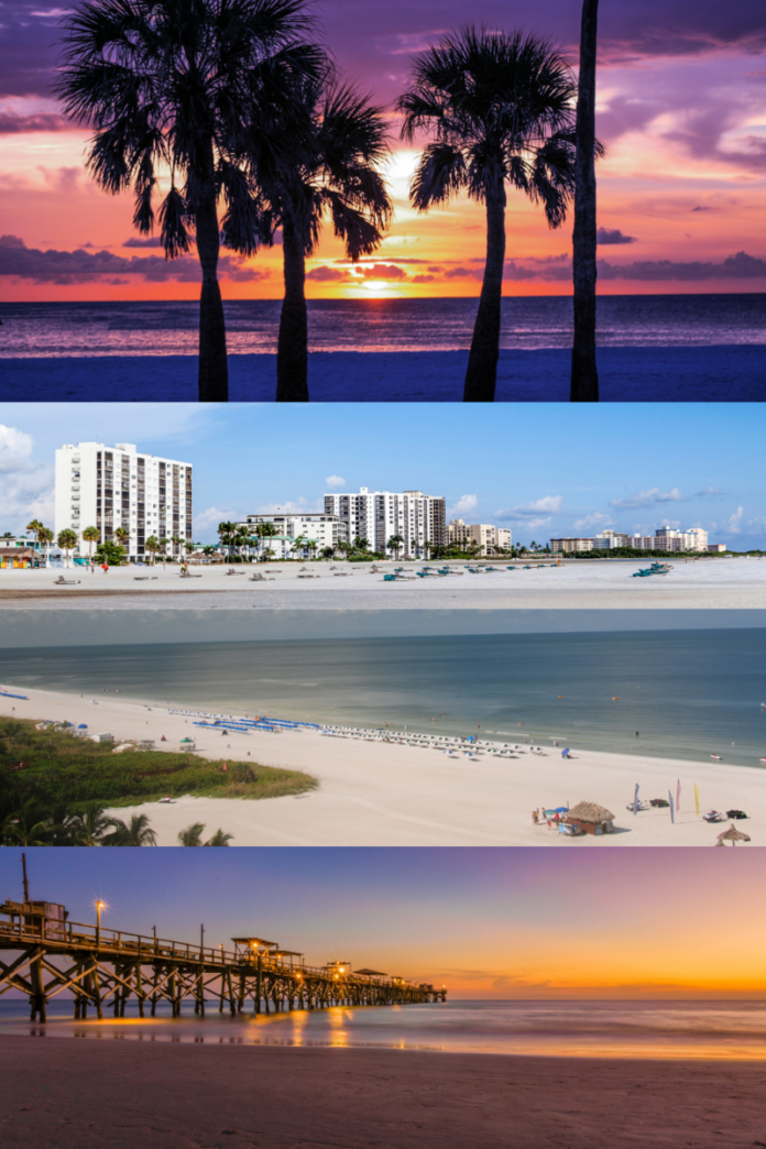 Most loved beach hotels on Florida's gulf coast in Marco Island, St. Pete Beach, Fort Walton, Sarasota, etc.
