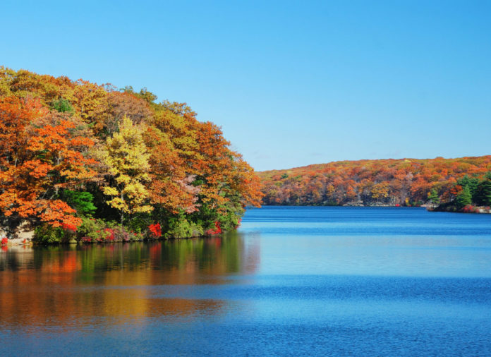 Save money on a Hudson River Fall Foliage Cruise from Midtown Manhattan with a coupon