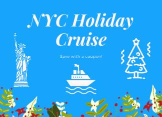 New York City Holiday Sunset Sightseeing Cruise Coupon