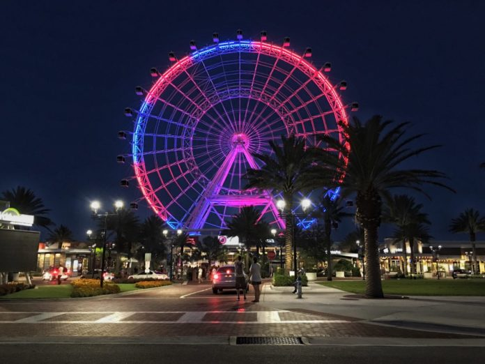 Orlando Eye wheel ferris wheel discount ticket