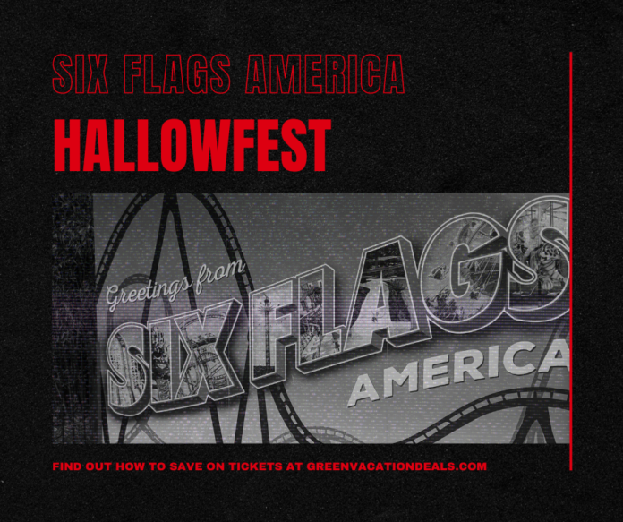 Save money at Six Flags America's new 2020 Halloween event, Hallowfest!