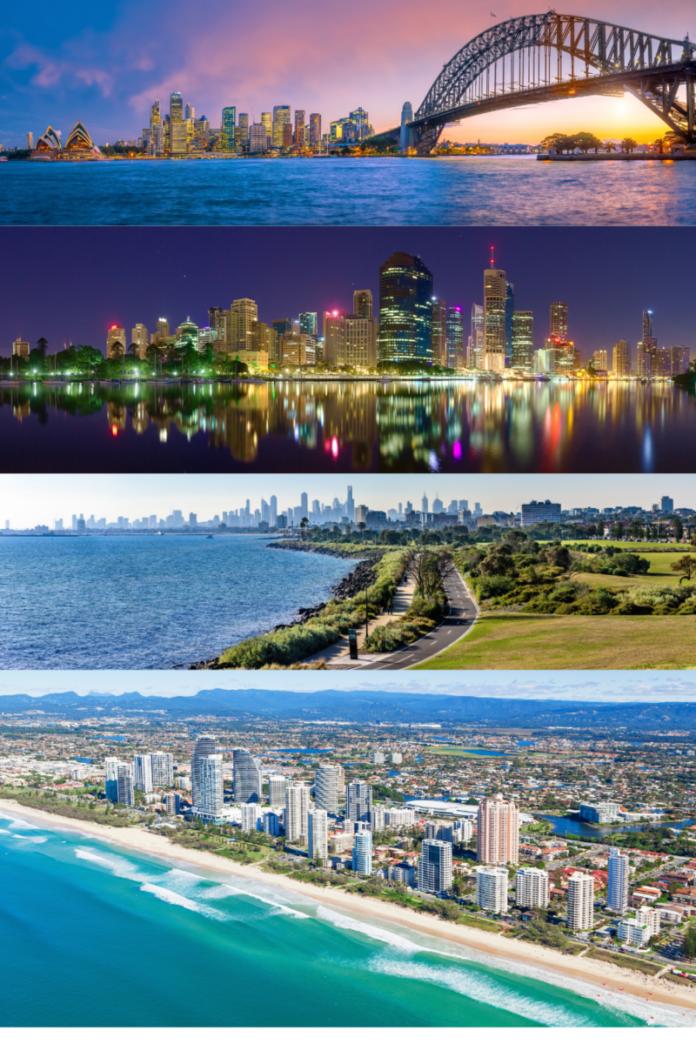 Best Australian luxury hotels in Sydney, Broadbeach, Melbourne, Brisbane, Surfers Paradise, Darwin, etc.