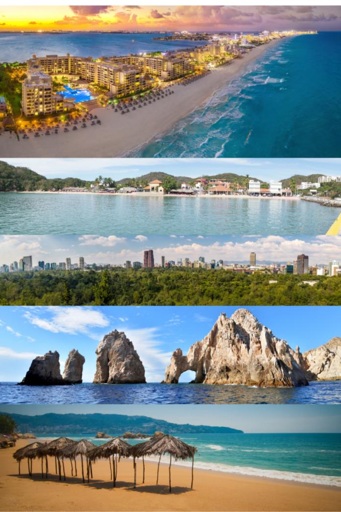 Top luxury hotels in Mexico in Puerto Vallarta, Playa Mujeres, Cozumel, Ixtapa, Cabos, Acapulco, etc.