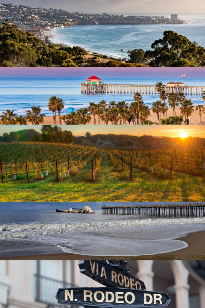 Top California luxury hotels (Napa, Monterey, Hollywood, Big Sur, Laguna Beach, etc.
