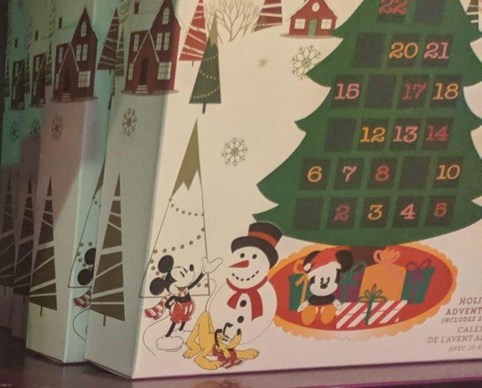 the top 40 Disney Advent Calendar options available online