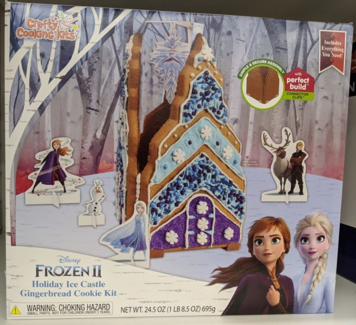 Best Disney holiday gingerbread house kits themed to Frozen, Mickey, Minnie, Toy Story, Beauty & the Beast, etc.