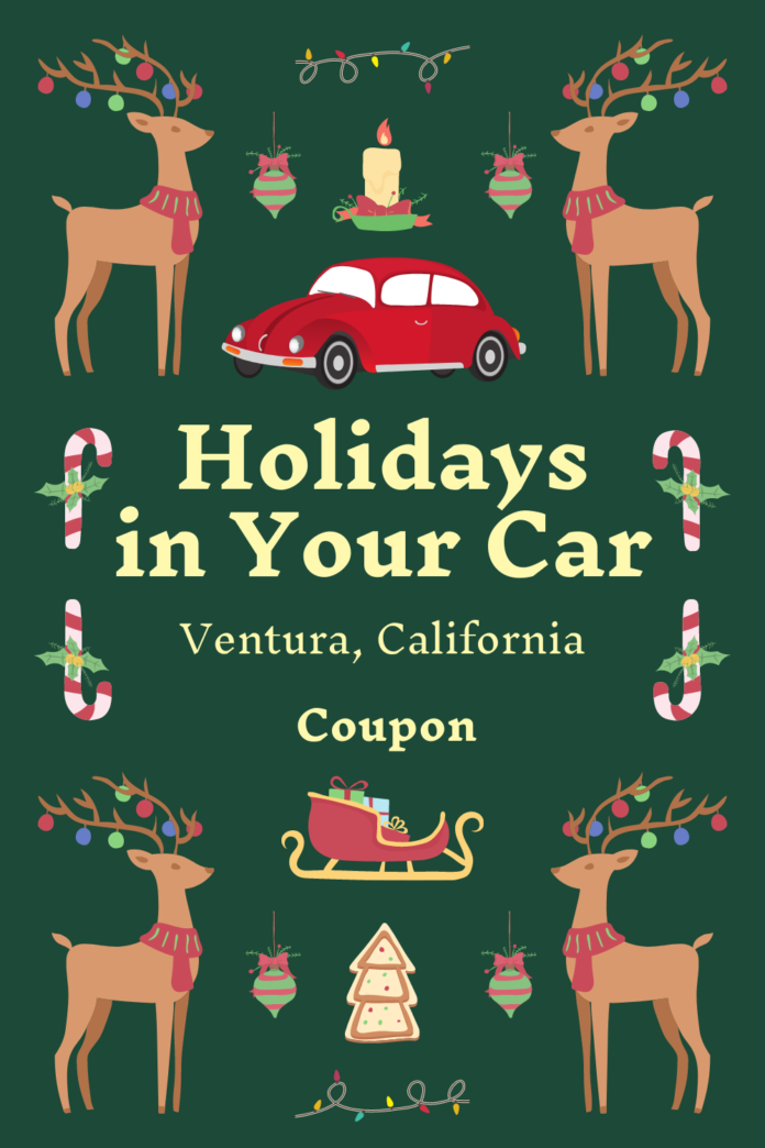 Discounted price for Holidays in Your Car in Ventura, CA