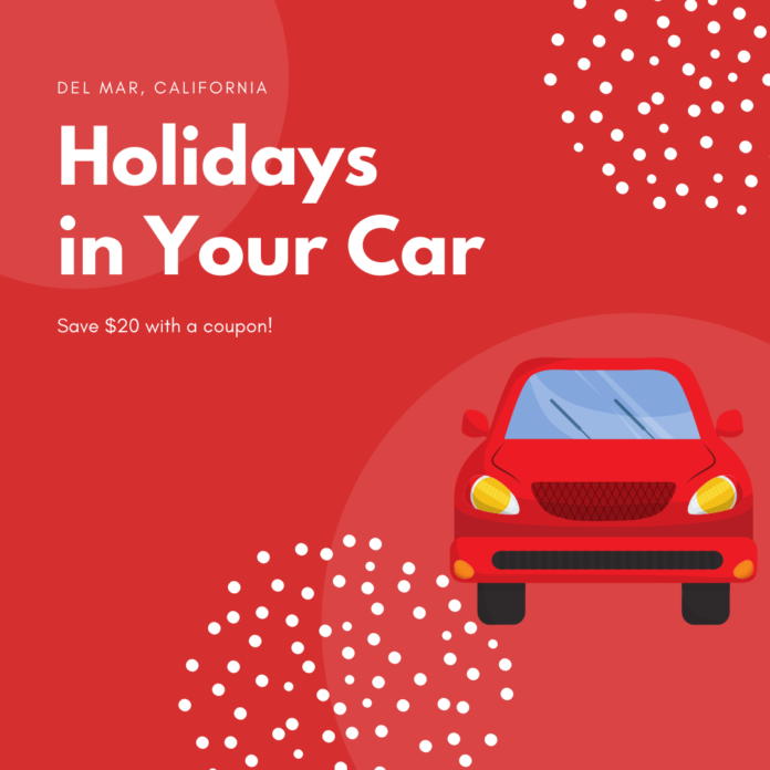 How to save money at the Subaru Presents: Holidays in Your Car Del Mar event in the San Diego, California, area