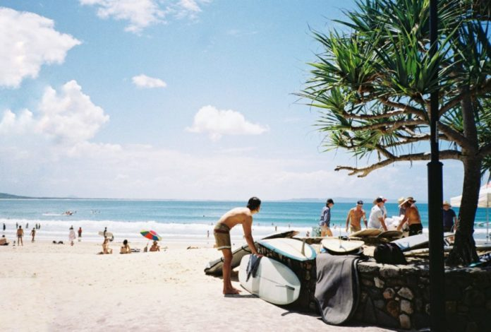 Discount price for Noosa Head, Queensland surfing lessons