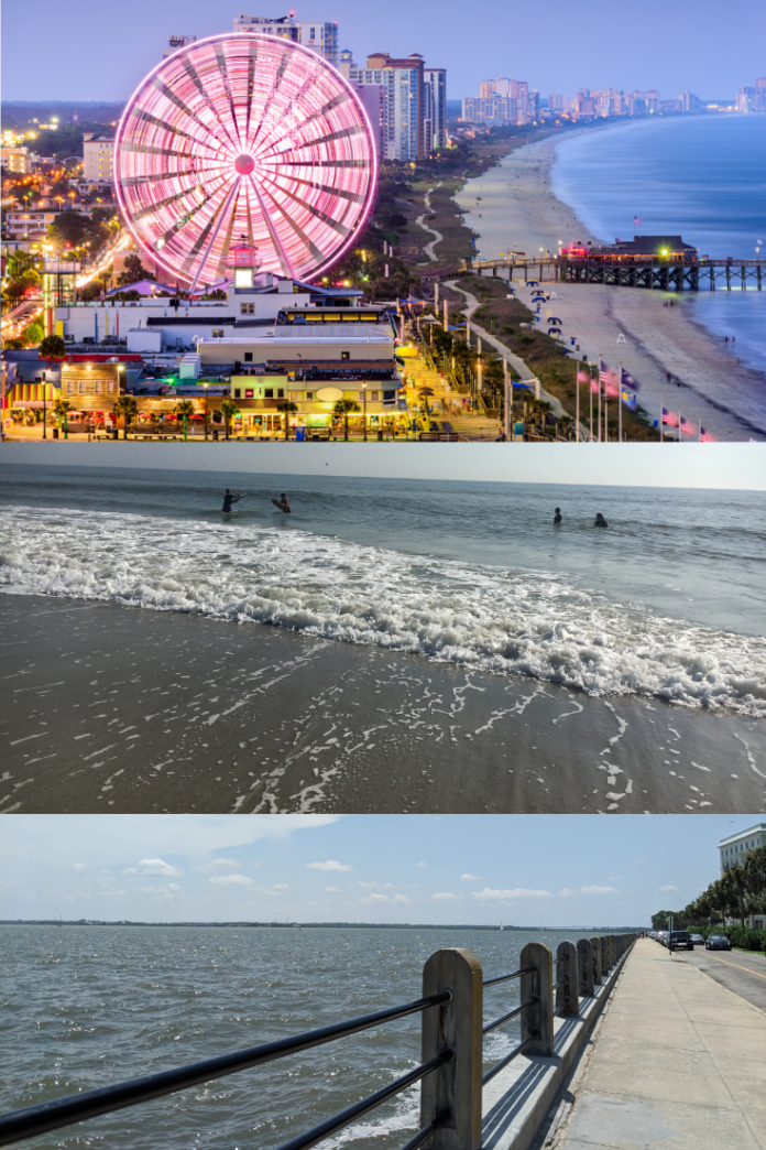 Coupons on South Carolina coastal hotels in Hilton Head, Charleston, Myrtle Beach, etc.