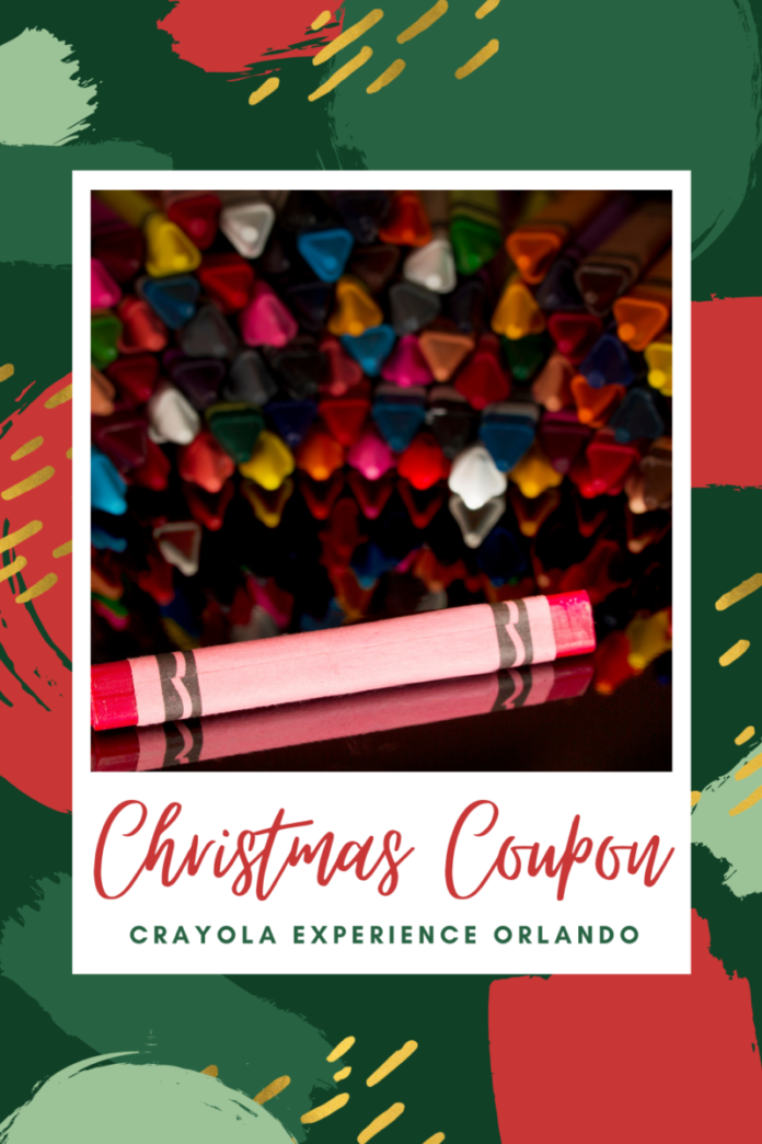 Discount ticket for Crayola Experience Christmas Experience in Orlando, FL