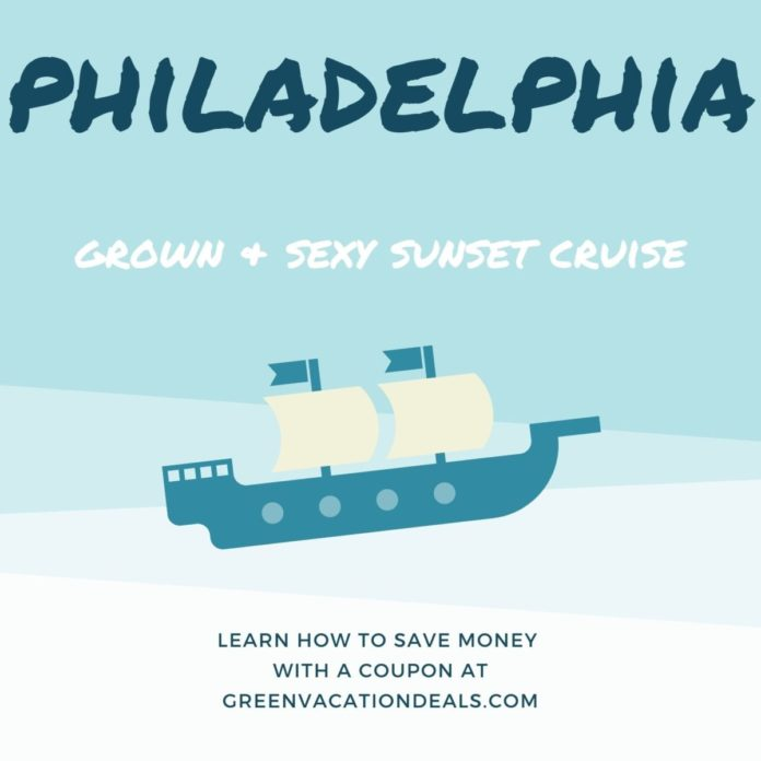Coupon, promo code for Grown & Sexy Sunset Cruise in Philadelphia