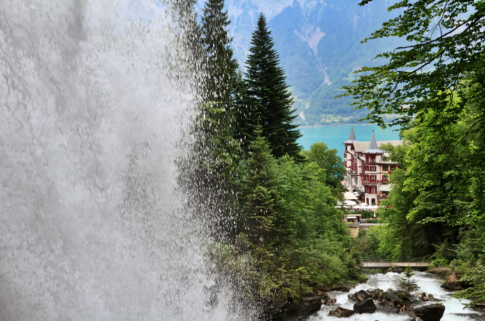 Win a free trip to Switzerland includes Swiss International Air Lines flights, Swiss passes & Hotel Giessbach stay