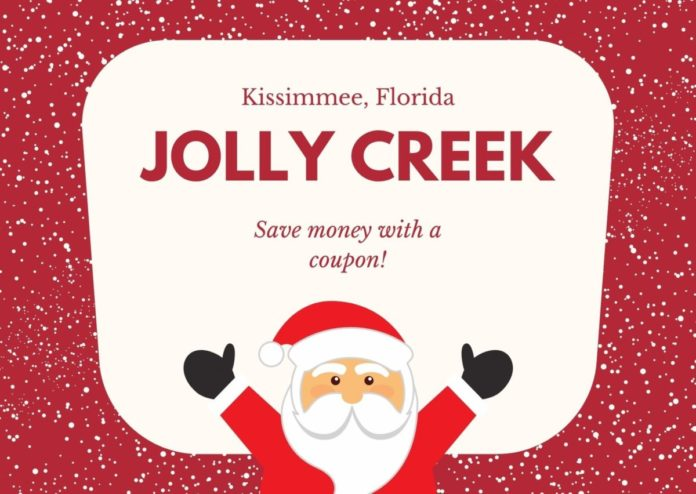 Discounted admission to Jolly Creek - Holiday Festival & Marketplace in Kissimmee, FL