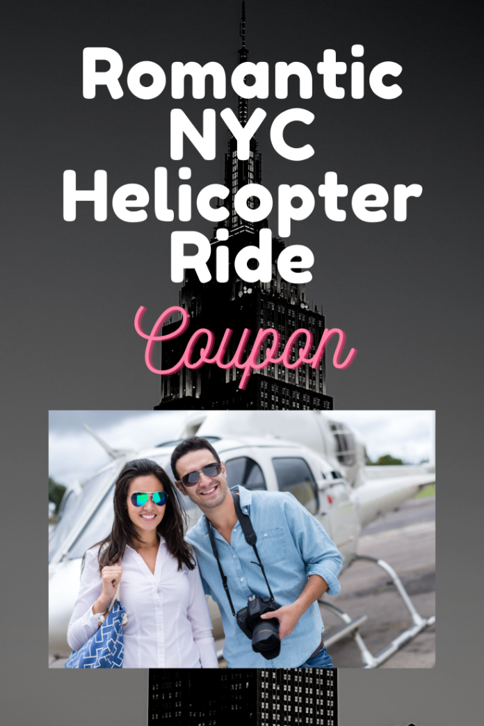 Save money on New York City: Private Helicopter Tour for Couples