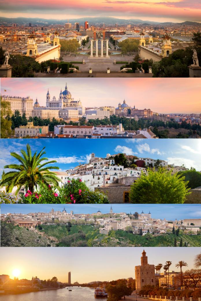 Best Spain luxury hotels in Barcelona, Madrid, Valencia, Marbella, Mijas, etc.
