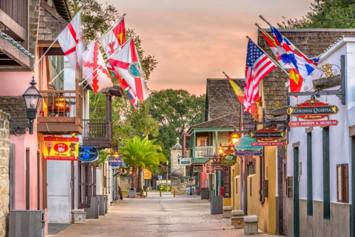 Coupon for Colonial Quarter tour in Saint Augustine, Florida