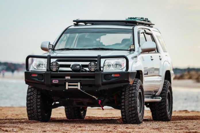 Win a a 2021 Toyota 4Runner Trail Special Edition 4x4 or 2021 SunTracker Fishin' Barge 22 DLX
