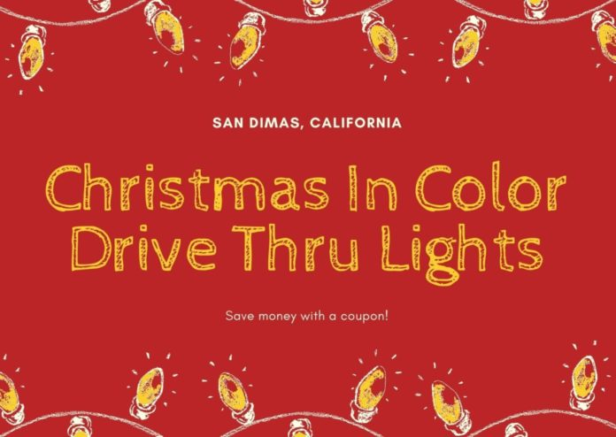 Discounted price for Los Angeles area drive through Christmas lights event