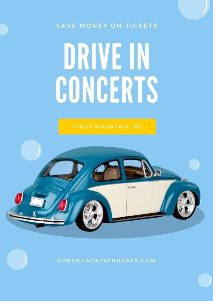 """Enjoy David Phelps """"It Must Be Christmas"""", Colt Ford and Jimmie Allen at Kings Mountain NC live drive-in concerts"""