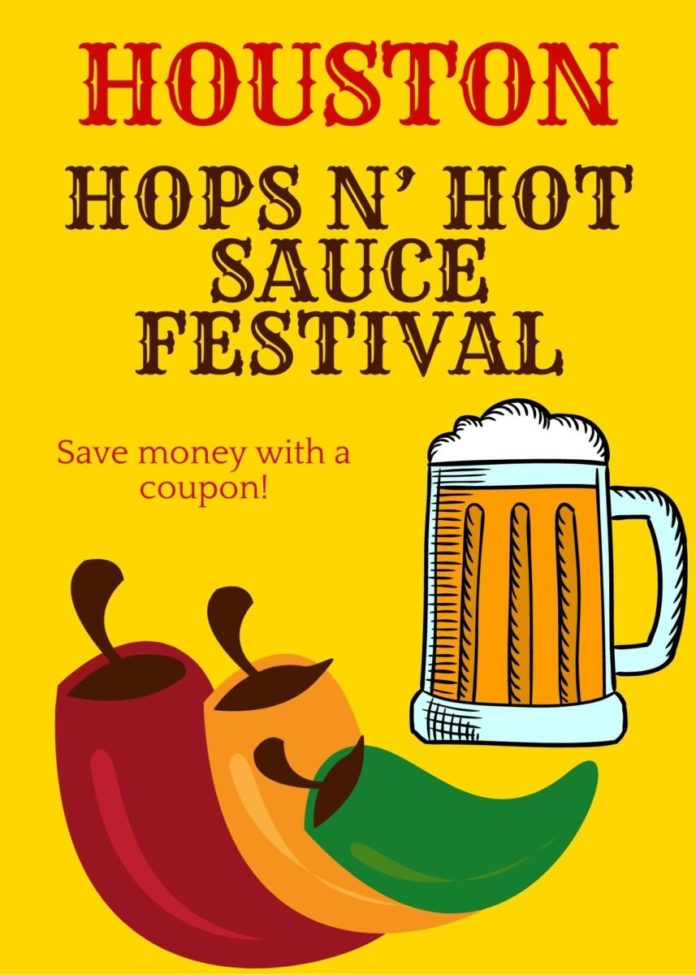 Hops N' Hot Sauce Festival In Houston, Texas promo code