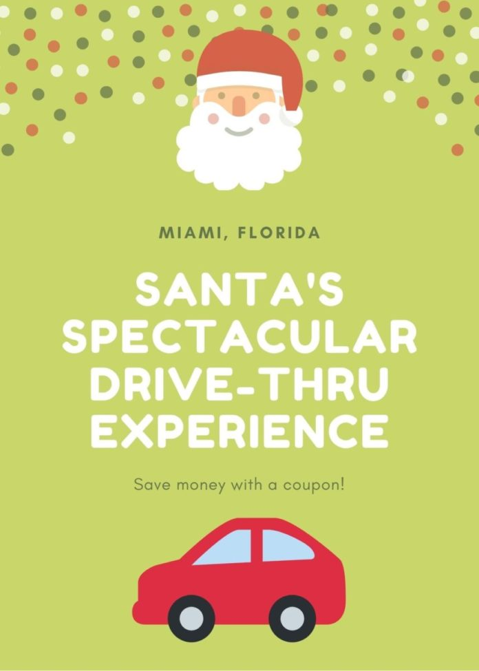 Discount price for Santa's Spectacular - A Drive-Thru Musical Extravaganza in Miami