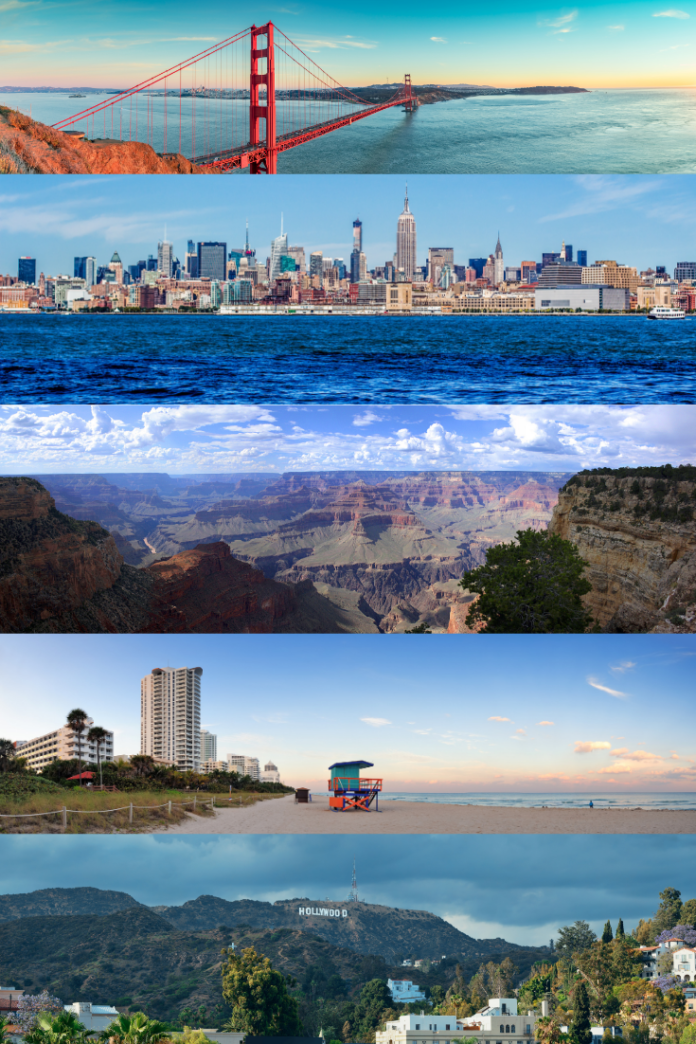 Win a trip to a USA travel destination of your choice