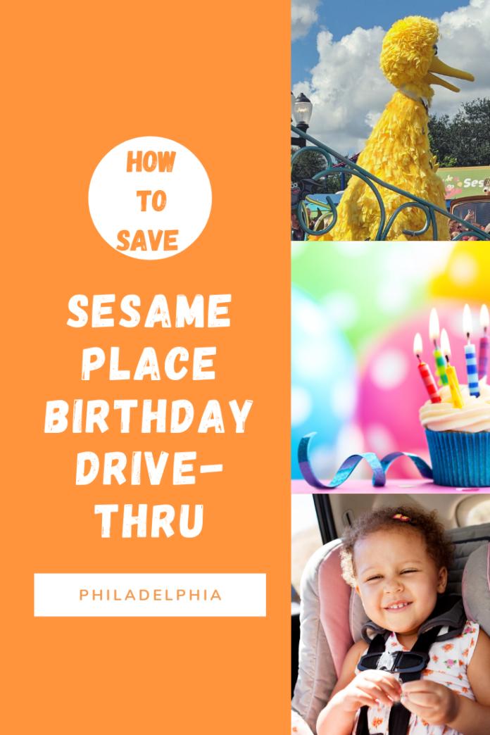 Sesame Place 40th anniversary birthday bash drive-thru cheap tickets