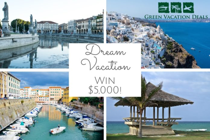 How to win a a $5,000 Credit with World Travel Holdings (Dream Vacation, Cruise, Inc and CruiseOne) toward an eligible cruise, tour or resort vacation.