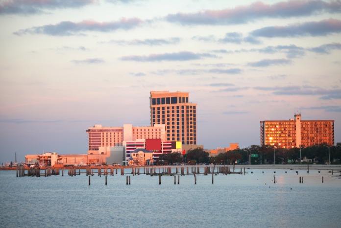Discounted nightly hotel rates in Biloxi, Mississippi on the Gulf Coast