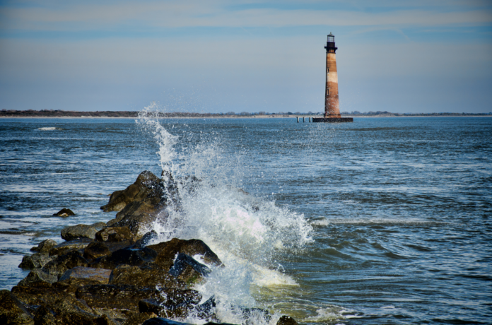 Charleston South Carolina's Tidal Creeks Eco Boat Cruise with Stop at Morris Island Lighthouse