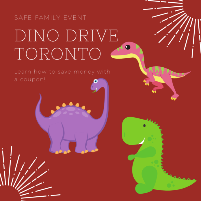 Save money on ticket to Dino Drive at the Better Living Centre, Exhibition Place, Toronto, ON