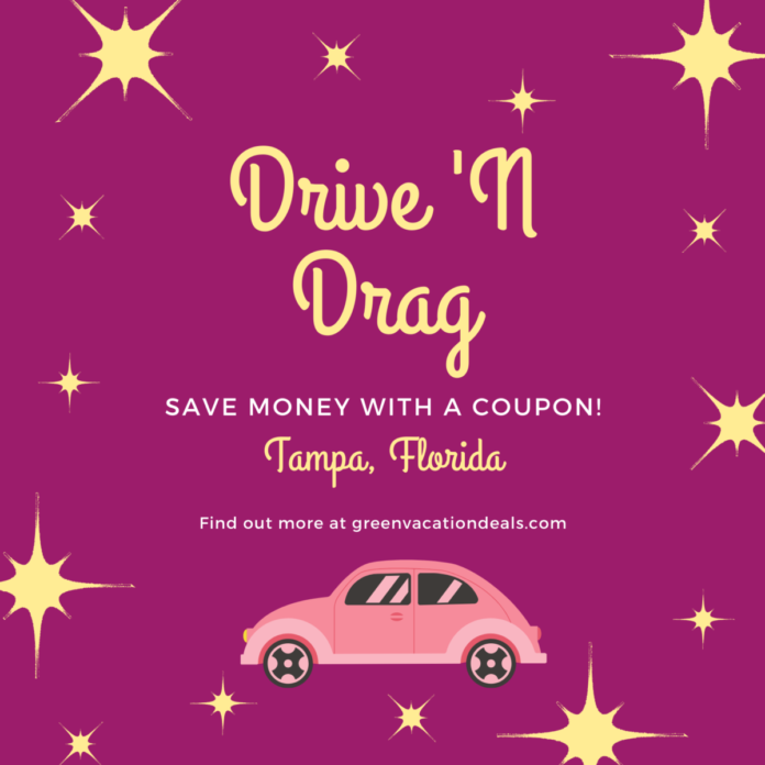 Discount admission to Drag n Drive in Brandon, FL