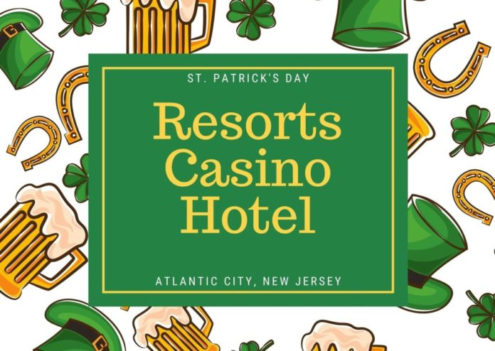 Save money while spending St Patty's Day at Resorts Casino Hotel in Atlantic City, New Jersey