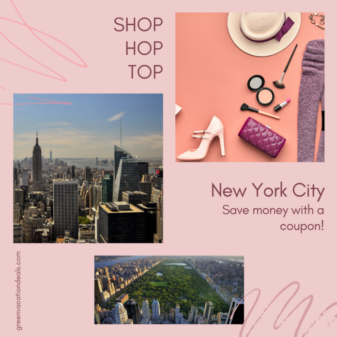 Save money on Shop, Hop & Top sightseeing package in NYC