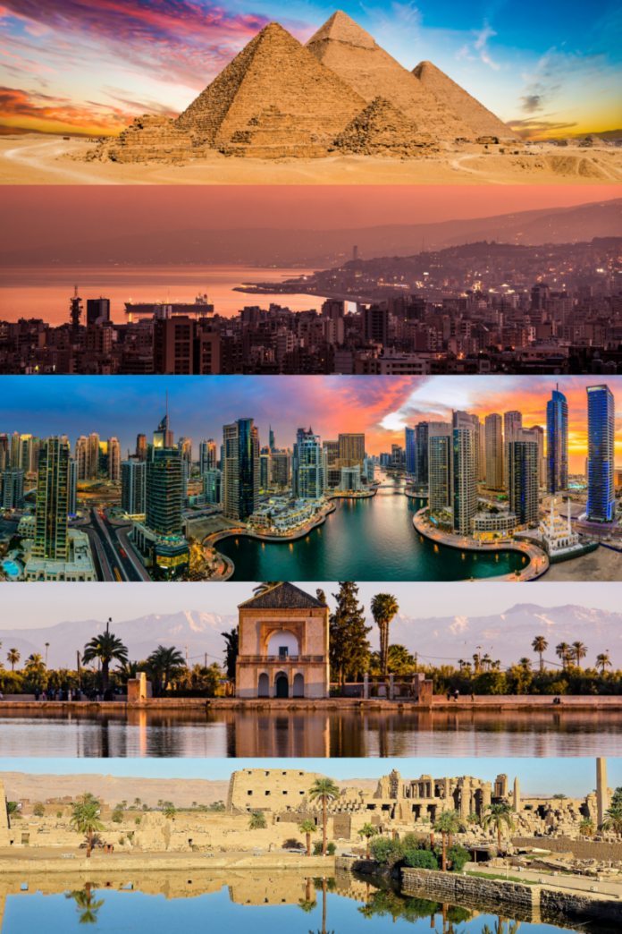 Cheap nightly rates in Middle East & Africa (Luxor, Cairo, Beirut, Dubai, Abu Dhabi, Marrakesh, Casablanca, etc.