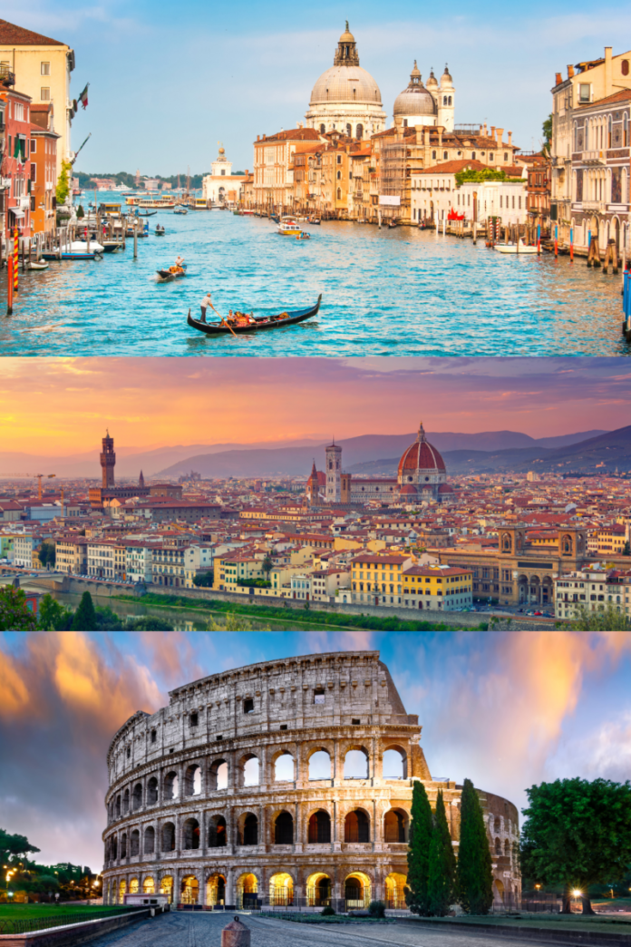 Win a trip to Florence, Rome & Venice, Italy